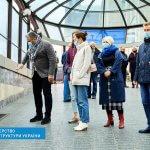 Світлина. Безбар'єрність на залізниці: ЮНІСЕФ разом із незалежними експертами провели аудит головного вокзалу Києва. Безбар'ерність, інвалідність, Київ, інфраструктура, аудит, вокзал