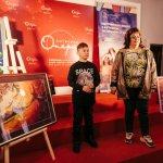 У Києві відкрилася перша виставка «космічних» картин хлопчика-аутиста з Бердянську (ФОТО)