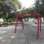 Світлина. Полный провал инклюзивного проекта: В Мариуполе не достроили, а затем и разграбили игровые зоны для детей с инвалидностью (ФОТОФАКТ). Безбар'ерність, инвалидность, проект, Мариуполь, объект, игровая зона